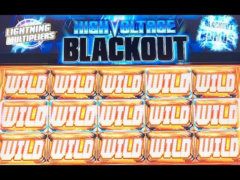 High Voltage Blackout Slot Live Play Max Bet Bonus