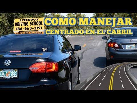 CLASES DE MANEJO/COMO
