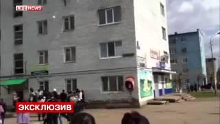 Жители Башкирии спасали людей, прыгавших из окон во время пожара