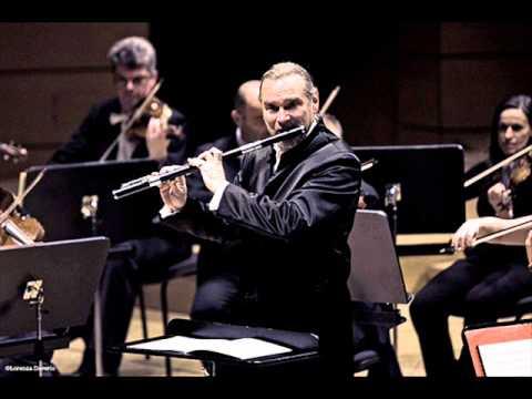 Paganini, 24 Caprices for Solo Violin(Flute), Op.1, No.4, No. 5 e No.6. Flautista Patrick Gallois