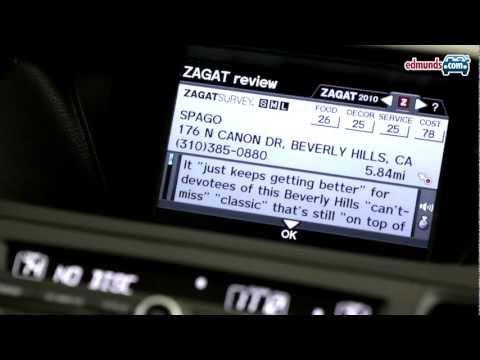 In-Dash Car Navigation Basics | Edmunds Tech