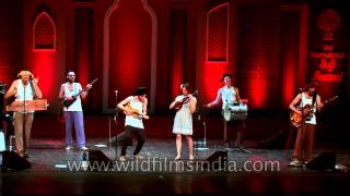 "Folk band ""Otava yo"" from Russia performing live at ICCR"
