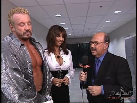 (720pHD): WCW Nitro 01/31/00 - Kimberly & Diamond Dallas Page Interview (feat. Disco Inferno)