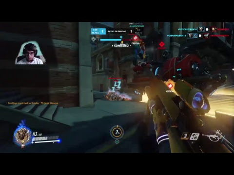 Overwatch: SOLO // RANK // GOLD
