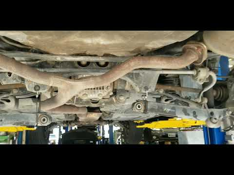 How to replace rear struts the easy way (15 Subaru outback)