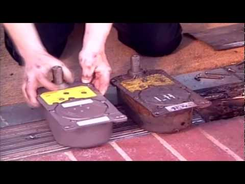 how to install a rixson floor closer - youtube