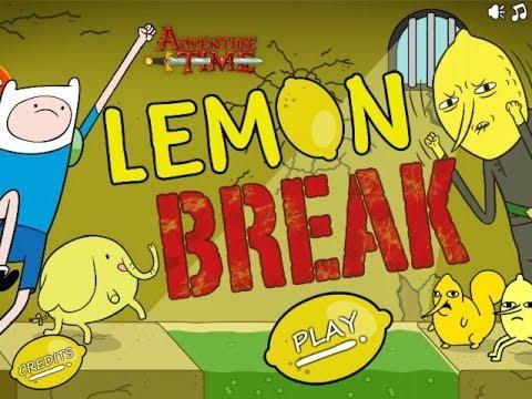 Lemon Break FULL Episodes : LEVEL 1 - LEVEL 20 ! - Escape The Dungeon - Adventure Time