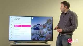 Nastavení funkcí u LG TV 2015