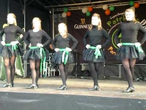 Irish Dancing St. Patrick's Day Copenhagen - Shipping Up To Boston