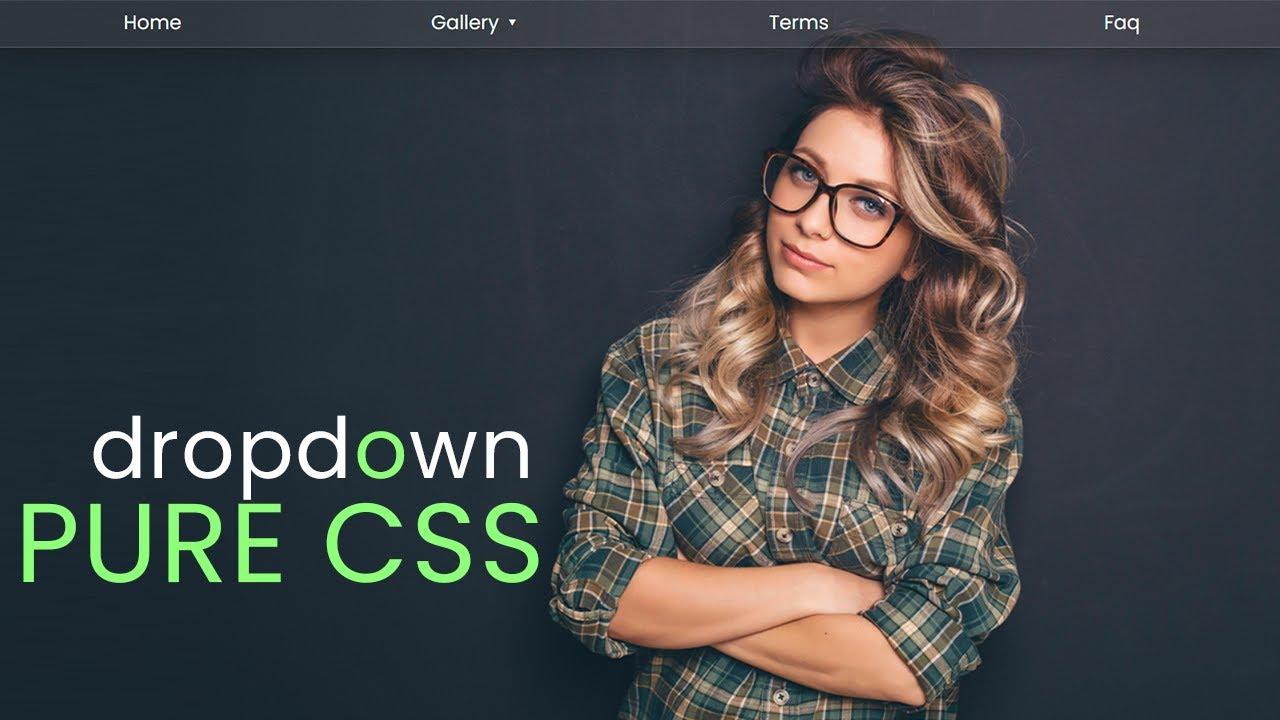 Latest CSS Dropdown Menu - Latest CSS Dropdown Menu