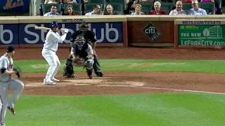 Dominic Smith crushes a pinch-hit three-run home run 2017 Video