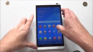 Huawei MediaPad M1 - первое включение, предварительный обзор