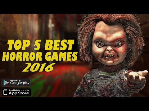 Top 5 Best New Horror Games For Android/iOS In 2016/2017 || Gamerzed Tv