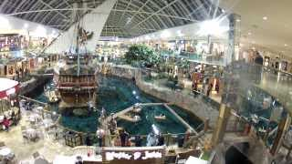 West Edmonton Mall - Canada`s Largest Biggest Mall Alberta Canada November 28 2013 HD