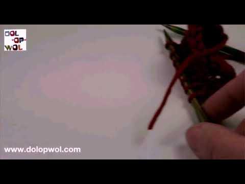 Knoopsgat Breien In één Toer Youtube