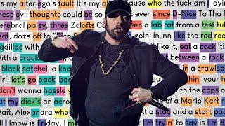 Eminem - Tone Deaf | Rhymes Highlighted