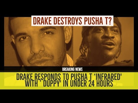 DRAKE DESTROYS PUSHA T on 'DUPPY' RESPONDS to 'Infrared'