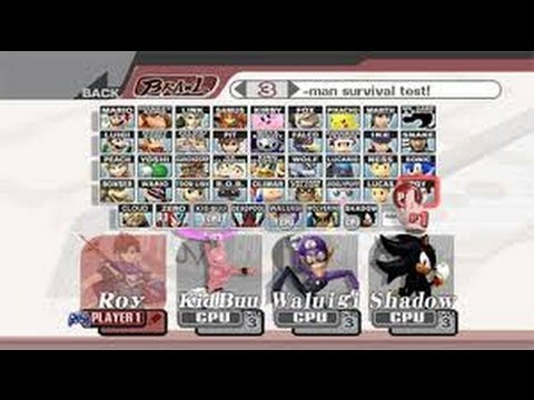 How to add up to 100 Custom Characters in Super Smash Bros. Brawl Part 1