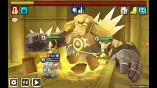 summoners war light golem groggo solo giants b5 and b6