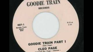 CLEO PAGE - Goodie train part I - GOODIE TRAIN