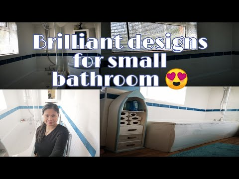 Brilliant small bathroom designs UK💞😍