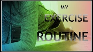 How to GET FIT and FLEXIBLE!- My Exercise Routine -HowToByJordan