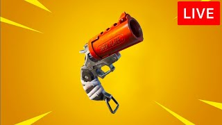 🔴 [LIVE] *NEW* FORTNITE UPDATE! (FLARE GUN)