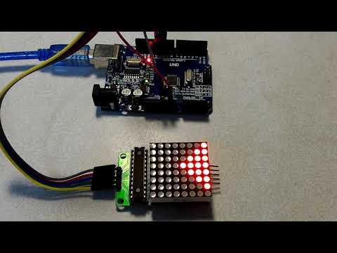 【Arduino電路實驗】8x8點矩陣