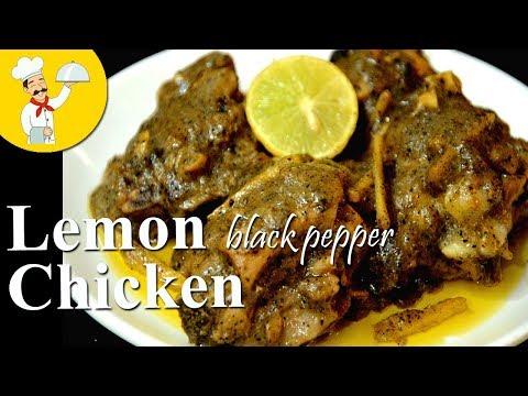 Lemon Black Pepper Chicken | Quick And Easy chicken Recipe | Quick Starter | Lemon Pepper chicken