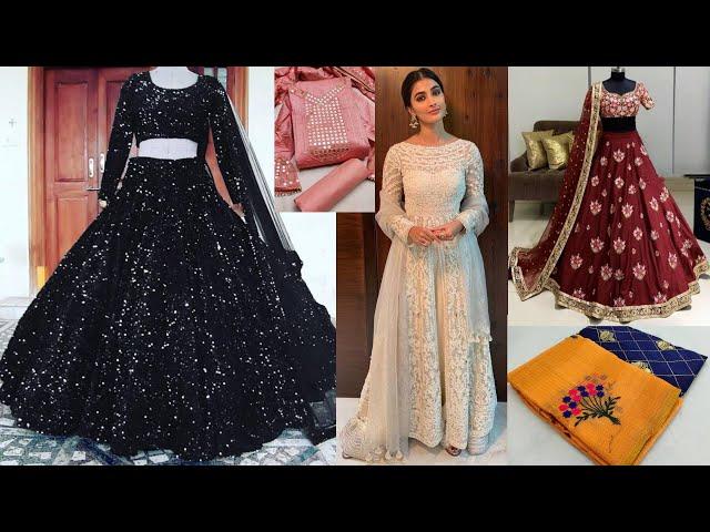Festive Designer Salwar Kameez / Sequins Lehenga Choli/ Saree #Online Shopping review #prititrendz