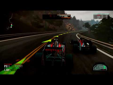 Formula A Car on California Highway - Project CARS [HD]