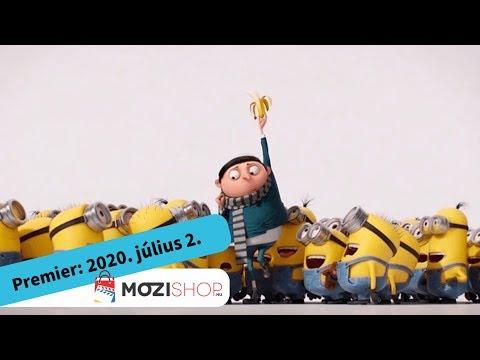 youtube filmek - Minyonok: Gru színre lép - magyar szinkronos előzetes #1 / Animáció