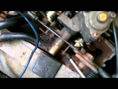 carburetor adjustment Daihatsu Hijet S83p Japanese minitruck