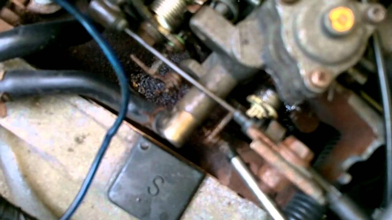 Fuse Box Carburetor Adjustment Daihatsu Hijet S83p Japanese