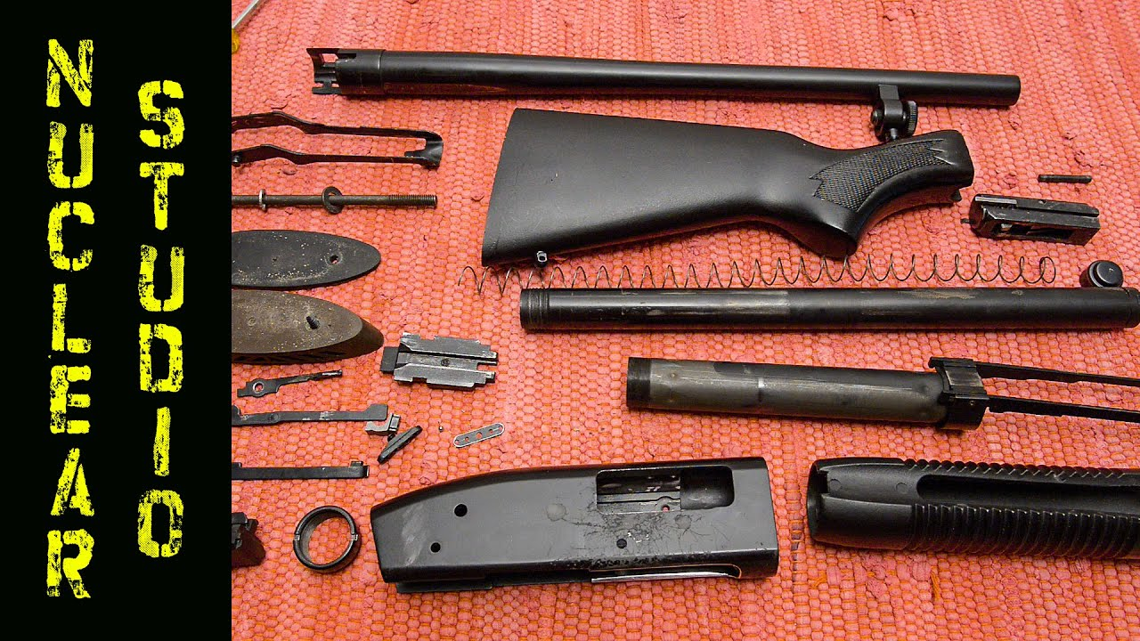 mossberg 500 full disassembly and real time reassembly youtube rh youtube com Mossberg 500 Persuader Mossberg 500 Tactical