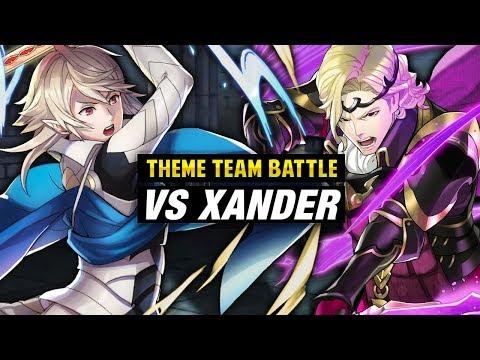 INFERNAL Xander GHB Vs. Corrin & Hoshidan Royals - Fire Emblem Heroes Theme Team Battle