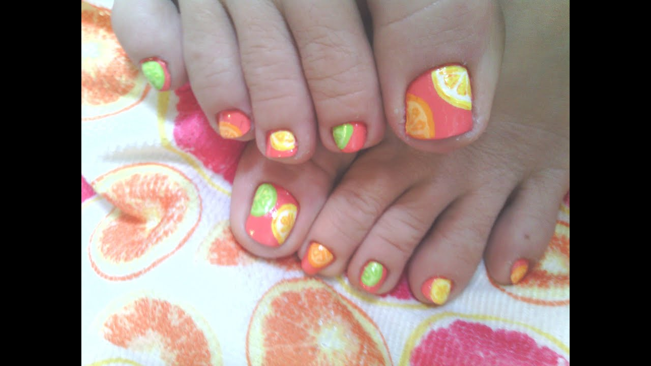 Modern Diy Nail Art On Toes Elaboration - Nail Art Ideas - morihati.com