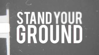 """Holly Would Surrender - """"Stand Your Ground"""" feat. Tony Lovato (Mest) - Official Lyric Video"""