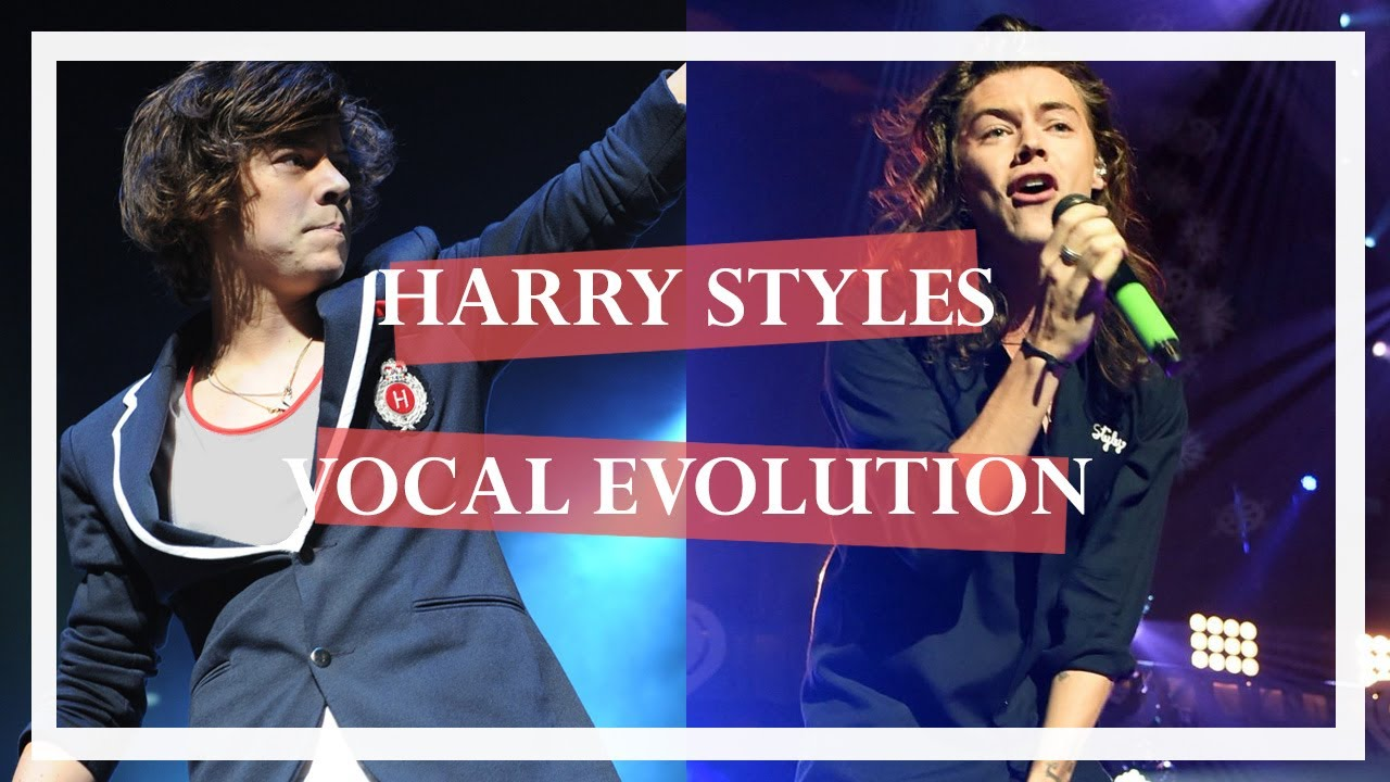 Harry Styles   Vocal Evolution - YouTube