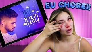 REAGINDO A MUSICA QUE MEU NOIVO FEZ PARA MIM E PARA NOSSO BEBÊ!!