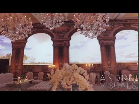 Palais Garnier Wedding 3D Mapping - Amman, Jordan