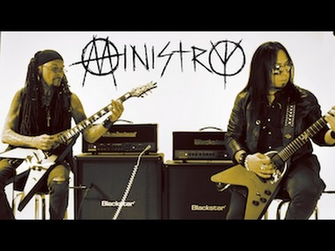 Ministry's Al and Sin on the Blackstar HT-Metal100