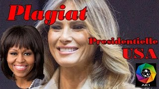 Plagiat Melania Trump Michelle Obama, Convention républicaine Donald Trump présidentielle usa
