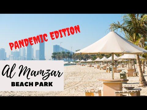 Al Mamzar Beach Park Dubai   Pandemic Edition
