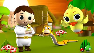 The Doctor and Bird Story - 3D Animated Hindi Kids Moral Stories वैद्य और चिड़िया कहानी Fairy Tales