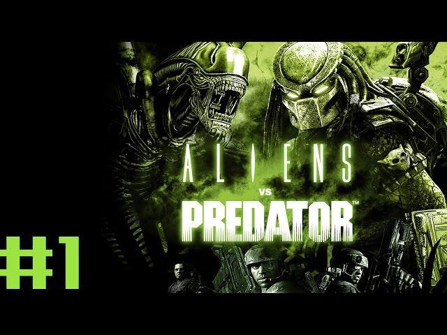 Aliens vs. Predator #1 - Alien - Anda cá  Eu não te faço mal