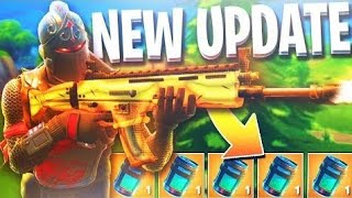 Livestream #221 - Giveaway (!giveaway) - Fortnite - new update