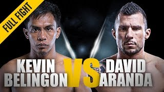 ONE: Full Fight | Kevin Belingon vs. David Aranda | Devastating KO | December 2013