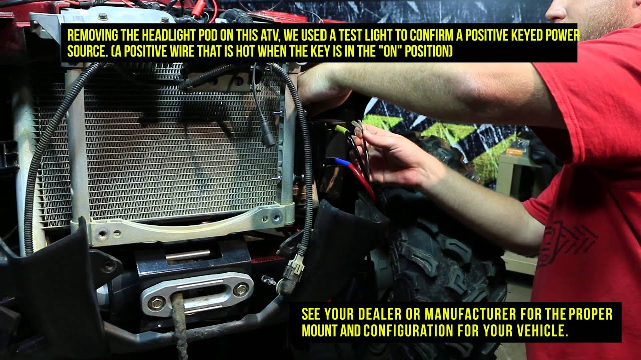 maxresdefault how to install the atv utv winch quadboss youtube bear claw winch wiring diagram at edmiracle.co