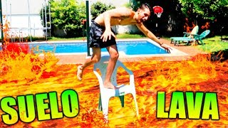 EL SUELO es LAVA!! FLOOR is LAVA CHALLENGE Makiman
